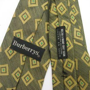 Vintage BURBERRYS'  Men's 100% Silk Tie